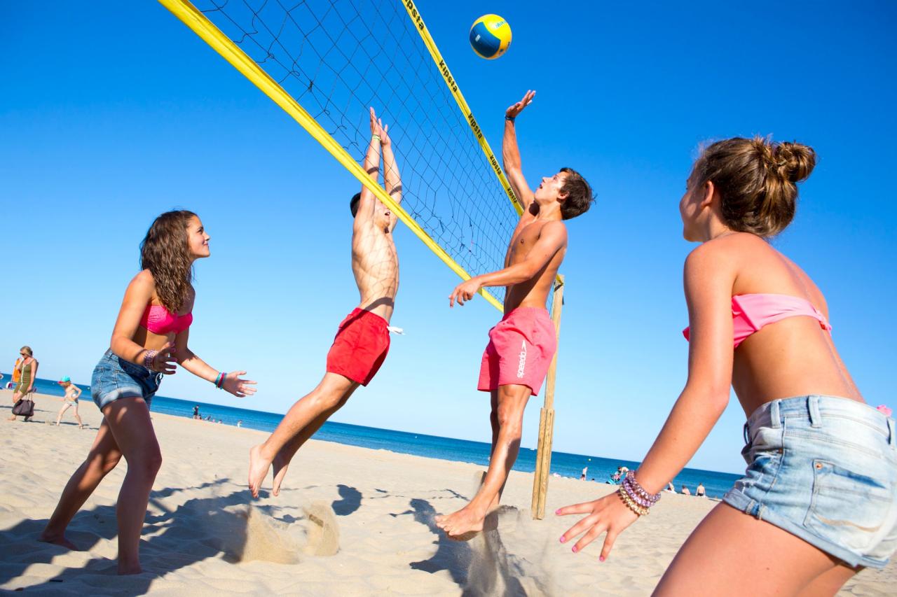 Как се играе плажен волейбол 2